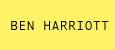 Ben Harriott
